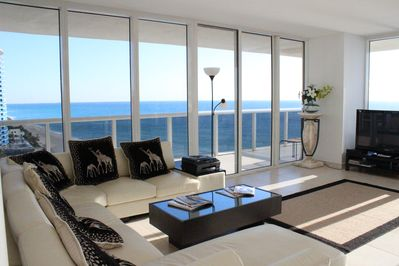 Living-room view