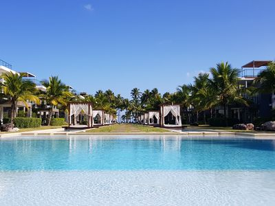 Photo for Beach Apartment at Luxury Sublime Samana Hotel