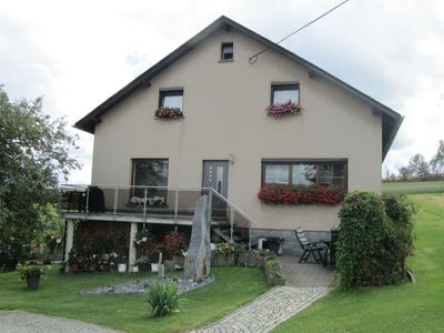 Photo for Very well-furnished vacation apartment in Vogtland in a peaceful location