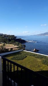 Photo for Air-conditioned apartment in residence waterfront gulf Ajaccio