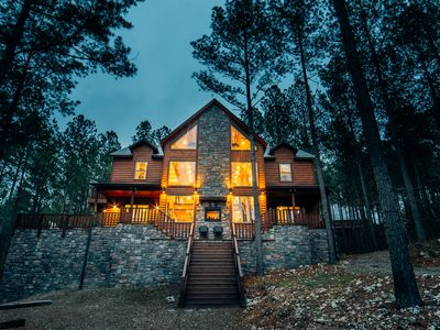 Photo for Hillside Treehouse:  5 BR + Loft Game Room, 4 Bath, Sleeps 14