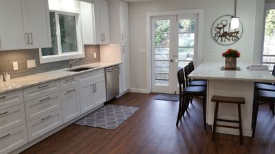 Photo for Riverfront Retreat Remodeled Kitchen 3BR & Hot Tub