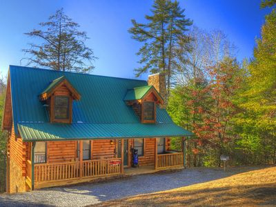 Photo for ***GREAT RATES*** FIRE PIT*** HOT TUB, FREE WIFI, Sleeps 12-14, POOL TABLE