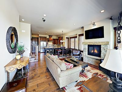 Photo for New Listing! Chic Park City Mountain Condo w/ Private Hot Tub, Heated Pool