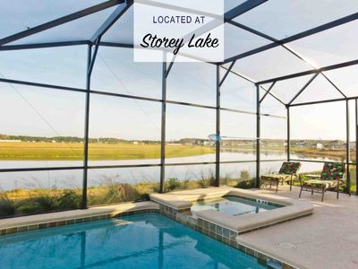 Photo for Home with Pool and Lake View Near Disney!