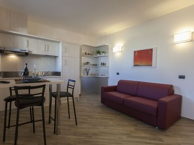 Photo for Deluxe apartment for 3 or 4 people