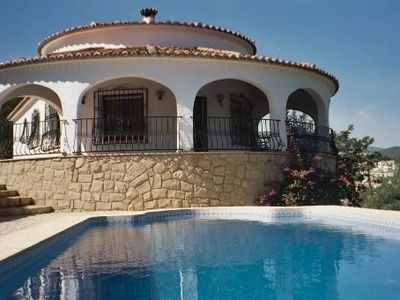 Photo for Typical Villa Overlooking The Sea And Calpe, Altea Bay
