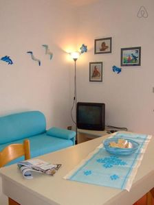 Photo for La Boa  apartment in Stintino with private roof terrace & balcony.