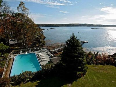 Photo for Spring Special! Beautiful Inground Pool and Private Dock - Two Waterfront Cabins