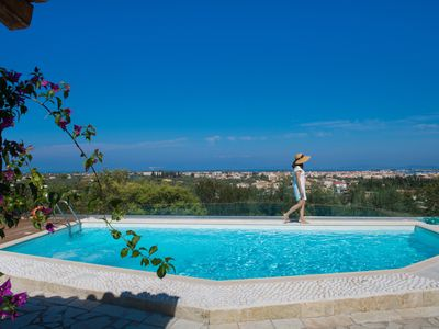 Photo for Villa Phedra - Nested on Lefkada Town Hill