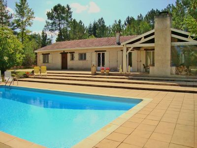 Photo for Private luxury villa located Douze with pool among the nature of the Dordogne