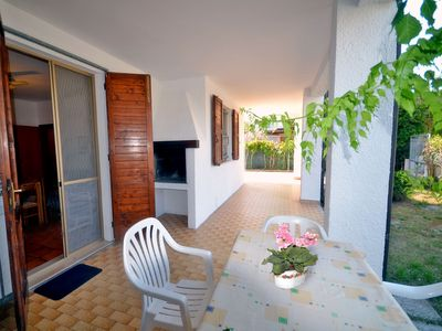 Photo for Beautiful chalet ground floor with large garden quiet area near the sea