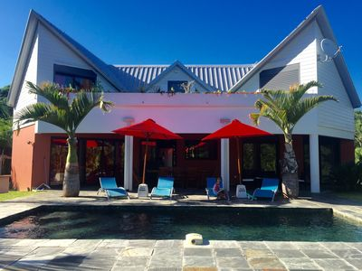 Photo for Great luxury Villa of architect F6 / 7 slate pool