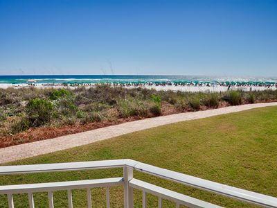 Photo for 🌟 Waterscape A101 Oceanfront! Ground Floor 3BR + Bunkroom! Beach View!
