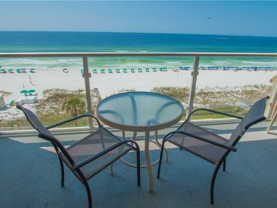 Photo for Lavish 5th Floor With Modern Touches And Spacious Balcony   Beach Front Balcony!