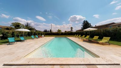 Photo for Domaine Paul Huc, upscale apartment in the heart of Corbières