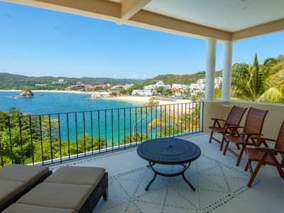 Photo for Spacious Oceanfront Condo - Steps to the Beach