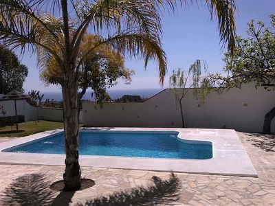 Photo for Charming Vacation Home Cortijo Encarni with Sea View, Mountain View, Wi-Fi, Garden & Terrace, Air Conditioning; Parking Available; Pets Allowed