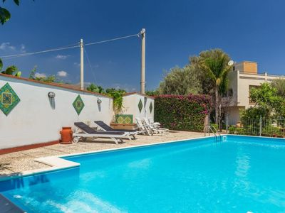 Photo for Luxury villa with pool and patios in the country side at just 4km from Palermo city center.