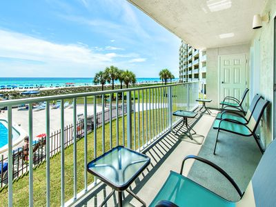 Photo for ☀Gulf FRONT for 6!☀Moonspinner 211B-2BR-Fitness Center-OPEN May 28 to 31 $701!
