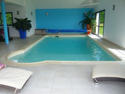 Photo for Villa 350m2 indoor pool and jacuzzi