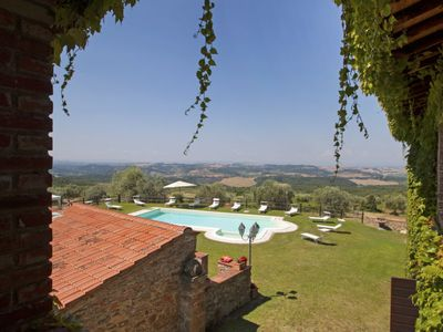 Photo for Vacation home La Veduta in Monte San Savino - 16 persons, 8 bedrooms