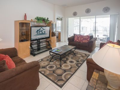 Photo for Enjoy Orlando With Us - Windsor Hills Resort - Feature Packed Contemporary 5 Beds 5 Baths  Pool Villa - 3 Miles To Disney