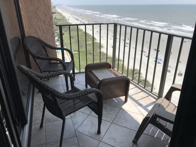 Balcony and Chairs