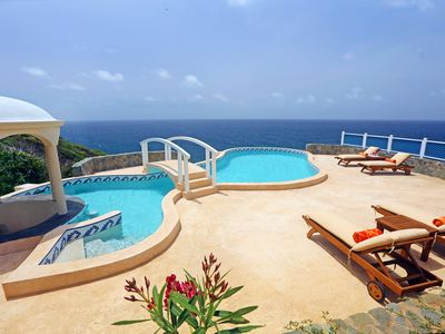 Photo for Sprawling Villa with Uninterrupted Sea Views