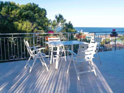 Photo for M262 - Marcelli, renovated three-room apartment with sea view terrace 1p
