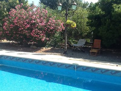 Photo for Large 5 Bedroomed Village House With Private Pool In Large Sunny Garden