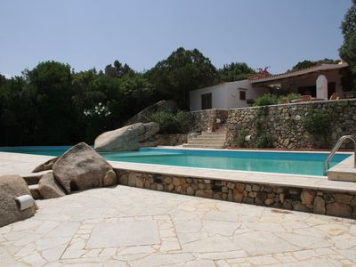 Photo for 4-bedroom villa with beatiful sea view and large swimming pool