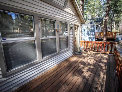 Photo for Cedar Pines Ultra Relaxing 2BR Central Moonridge Retreat / WiFi /Cable / BBQ