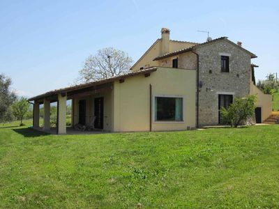 Photo for OLD HOUSE in the green, max. 12 persons, UMBRIA CALVI / 45 'from Rome / WiFi