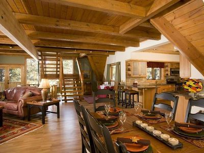 Large Lodge Style Home Brazos Canyon Area