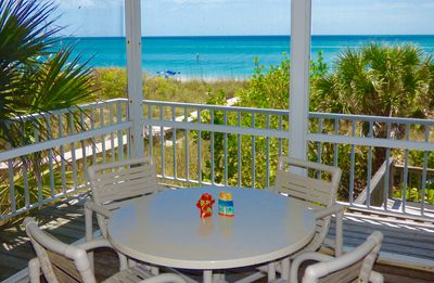 Photo for Large BEACHFRONT home with dock, Family and Pet Friendly