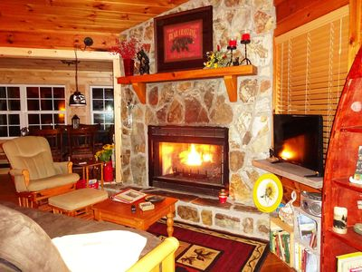 Fishing Bear Cabin-$125 per night for 2 with no pet***: SEE RATES/Notes - info