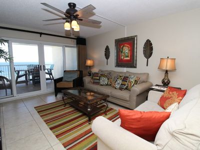 Photo for Sandy Key 523-Beach Front Views from Terrace with Coastal Interior!