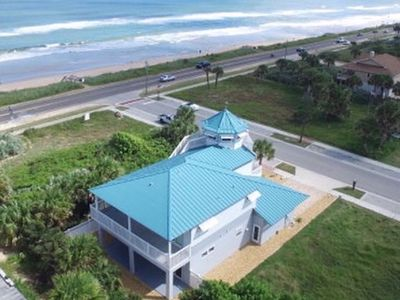 Photo for Luxury 3 story by the beach in the center of the town of Flagler Beach, Wifi