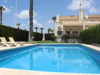 Photo for Luxury 3 bedroom villa, with private pool, on Las Ramblas Golf Course