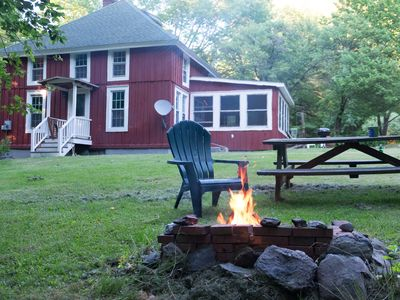 Photo for Cozy Secluded Cabin in the Berkshires