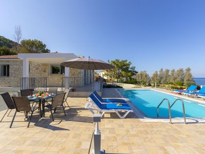 Photo for Pomos Villa, Sleeps 6 with Pool, Air Con and WiFi