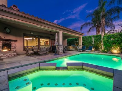 Photo for PRIVATE LUXURY HOME WITH POOL, HOT TUB & MOUNTAIN VIEWS IN GATED COMMUNITY!