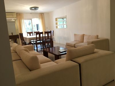 Photo for Spacious family apartment in the best area of Santa Cruz!