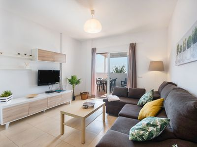 Photo for Modern Holiday Home Casa Cactus with Pool, Wi-Fi & Terraces; Parking Available