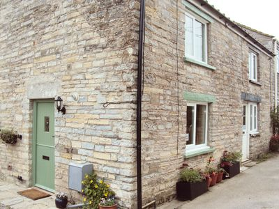 Photo for 2 Withy Cottages has 2 bedrooms a cosy sitting room with wood burning stove.
