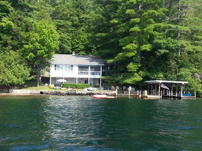 Photo for Waterfront Year-Round House on Lake George - 3BR Main House and 1BR Guest House