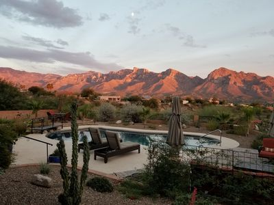Photo for Like Staying at Your Own Private Resort! Hilltop Oro Valley Home!
