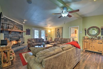 With 2,000+ square feet and room for 8, this home is ideal for larger groups.