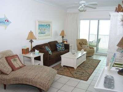 Photo for Great location w/ Direct Gulf View! Enjoy Beautiful Fall Sunsets on the Beach!